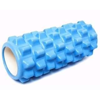 🚚 瑜伽柱 空心狼牙棒 泡沫軸 健身滾軸 深度按摩棍 肌肉放鬆滾筒