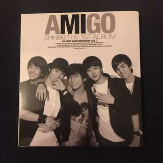SHINee - Amigo (The First Album) CD