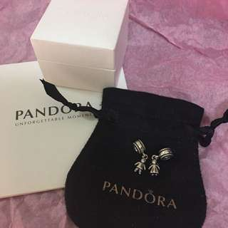 Price Drop!!! Auth Pandora My Little Boy/Girl Charm