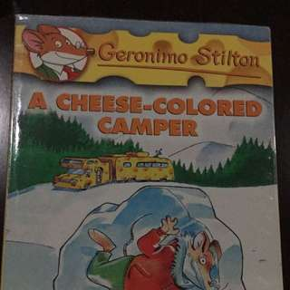 Geronimo Stilton Volume 16, A Cheese-Colored Camper - Scholastic