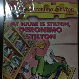Geronimo Stilton Volume 19, My Name Is Stilton, Geronimo Stilton - Scholastic
