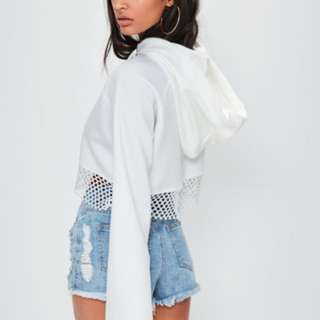 London x Misguided White Top