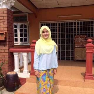 Baju Linen & Batik Lipat Depan