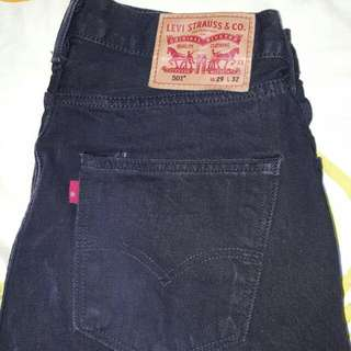 Levis 501 and 502