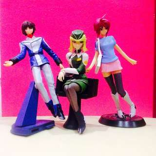 Mobile Suites Gundam Seed Anime Figures