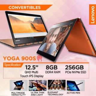 ✅Lenovo YOGA 900S,(Intel M7-6Y75, 8GB RAM, 256 SSD)(80ML0015SB) (Gold)