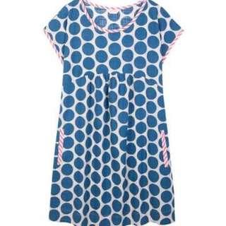Gorman Polka Dot Blue And White Dress