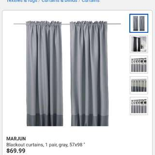 MARJUN blackout curtains