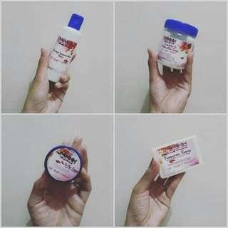 Kutis Koryana - Organic Whitening Soap, Scrub, Lotion, Underarm Deo Cream and Slim and White Juice