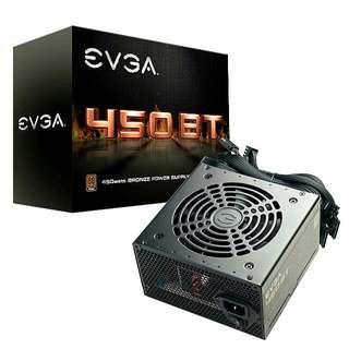 EVGA 450 Bronze Rated Power Supply Unit PSU 450b 450bt 450w
