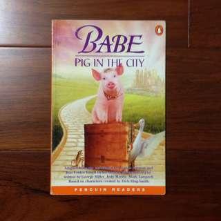 🚚 #好書新感動《Babe - a Pig in the City》ISBN:0582364000
