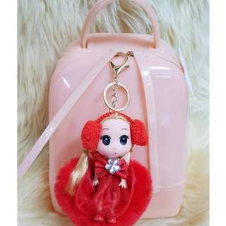 Candy JElly BAckpack with Free Bag Charm