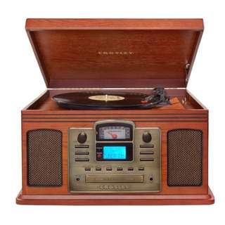 黑膠唱片機CROSLEY CR2405C