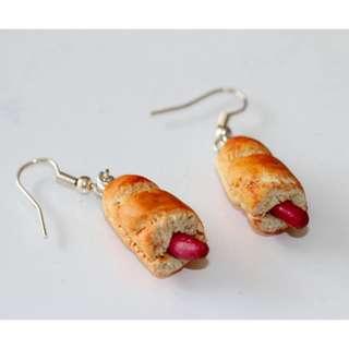 Hot Dog Earrings (182)