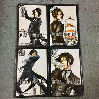 Black Butler (Volume 1 - 4)