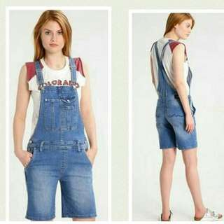 Pepe jeans London Dungaree Shorts