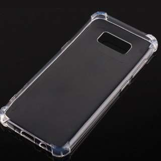 Samsung galaxy S8 Clear Case Soft Silica Gel TPU Silicone Ultra Thin Anti-drop phone shell cases.