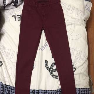Cotton on: Jegging Mid Rise (Maroon)