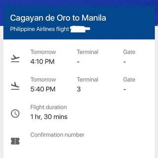 Plane ticket (Negotiable)
