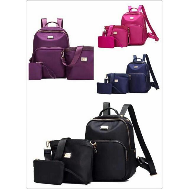 3 In 1 Waterproof  New Fashion Bags