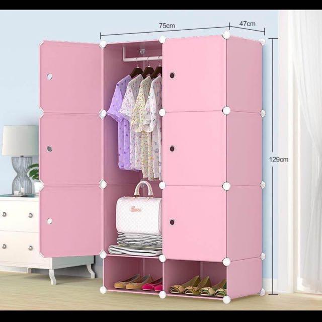 6 Cube Cabinet