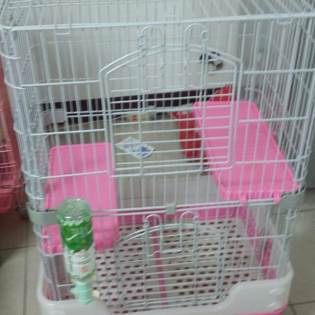 九成新貓籠