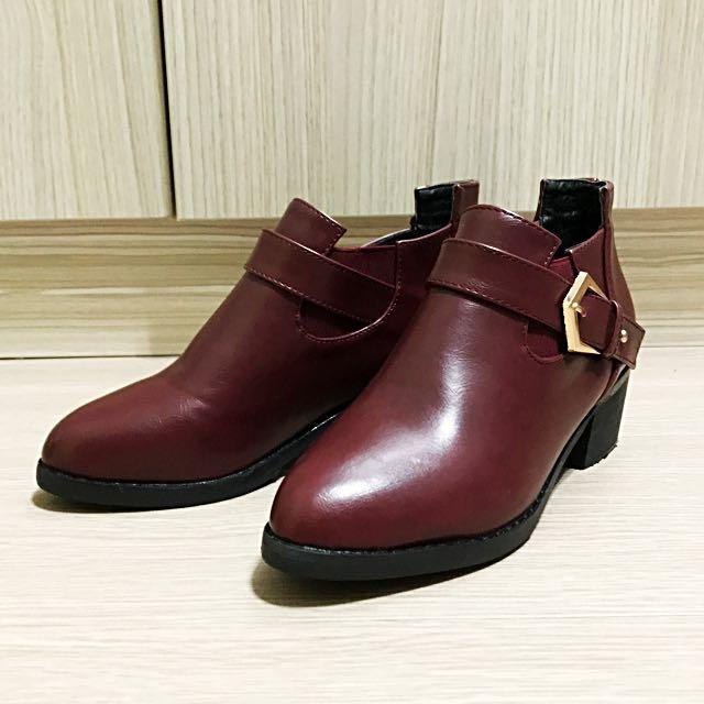 質感短靴 23(36)碼