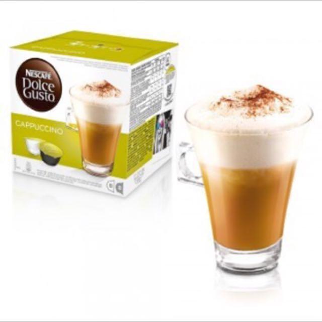 雀巢咖啡膠囊 拿鐵 巧克力 卡布奇諾 美式濃黑咖啡