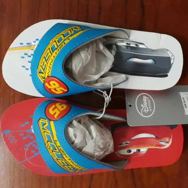 迪士尼官網 CARS 閃電麥坤 海灘拖鞋
