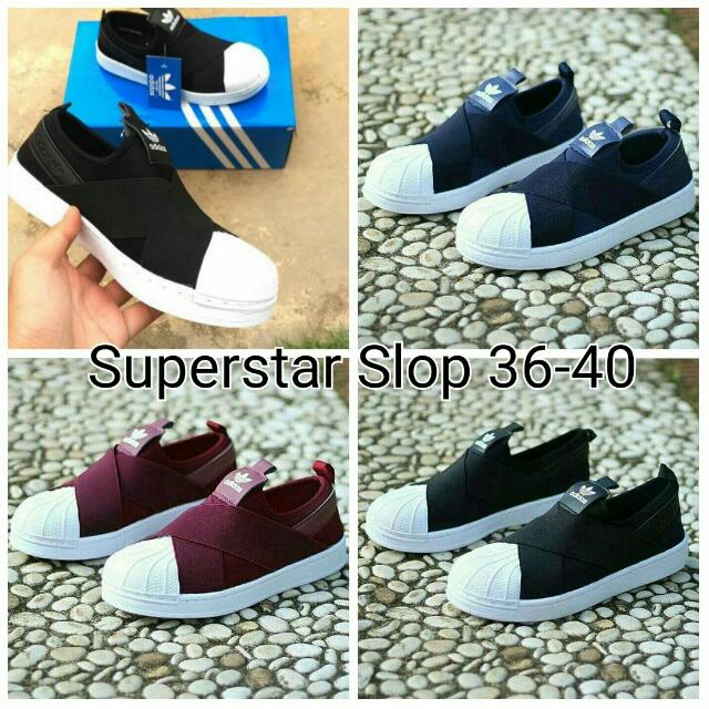 Adidas IMPORT Superstar Slop Shoes