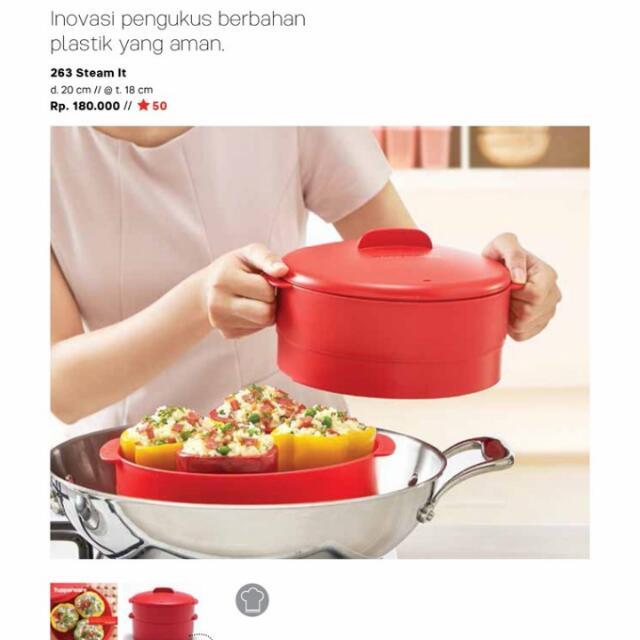 Alat Pengukus Tupperware