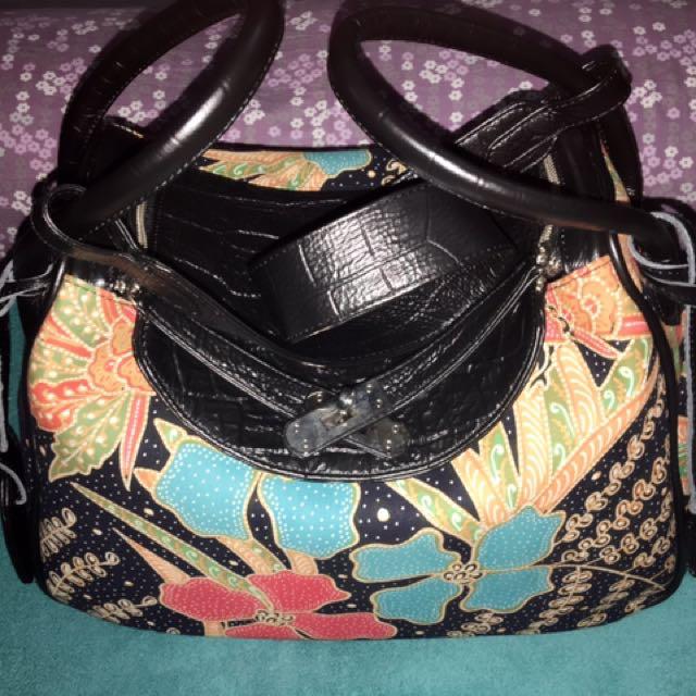 Anjani Batik Bag..Kondisi Baru Ex Kado (Nego)