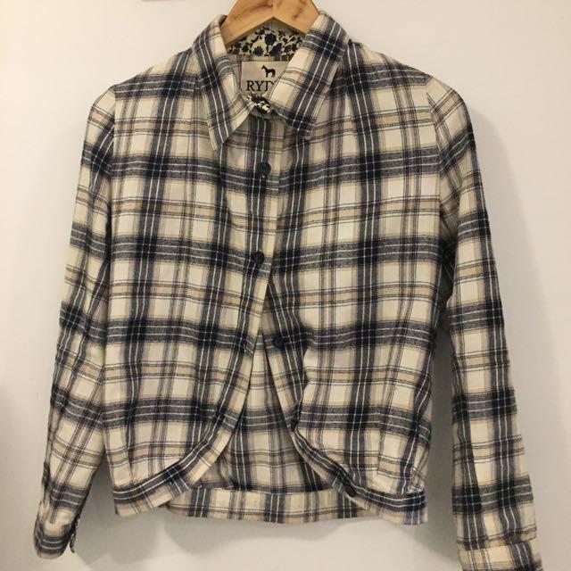 RYDER Arabella Ramsay Check Shirt