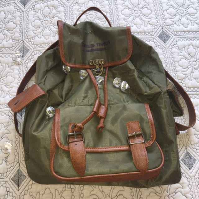 Army Green Bag