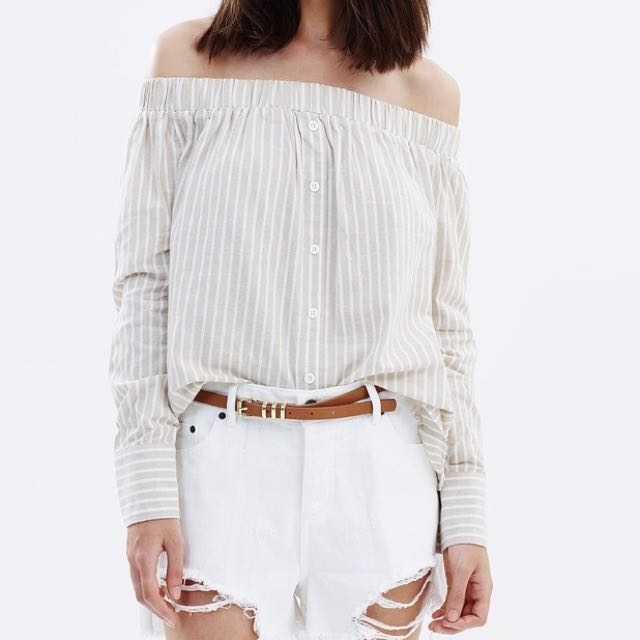 Atmos&Here Ava Off-shoulder Top
