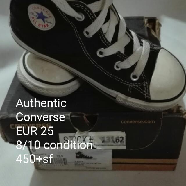 Authentic Converse