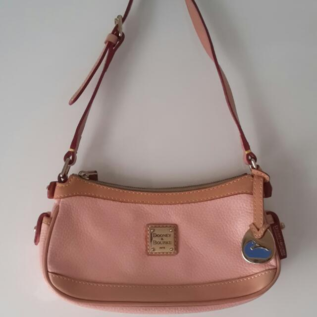 Authentic Dooney & Bourke Leather Bag