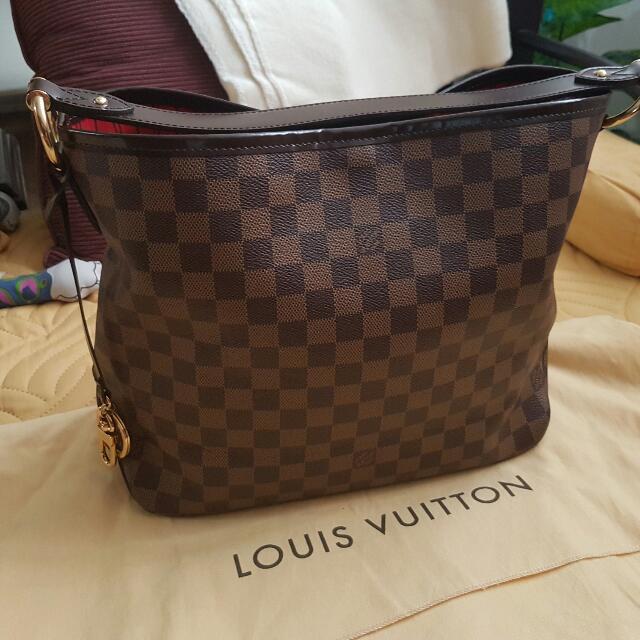 Authentic Louis Vuitton Delightful Damier Ebene