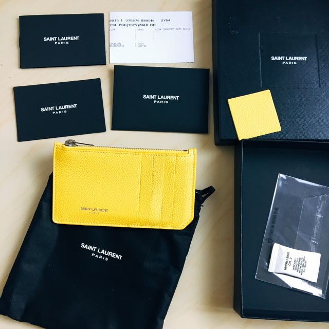 Authentic NEW YSL Wallet