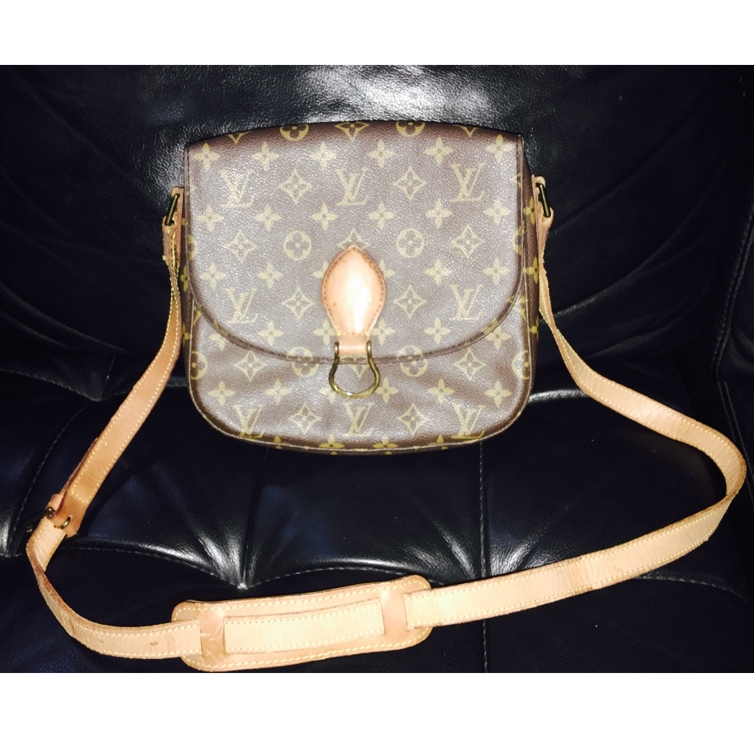 Authentic St Cloud GM Louis Vuitton