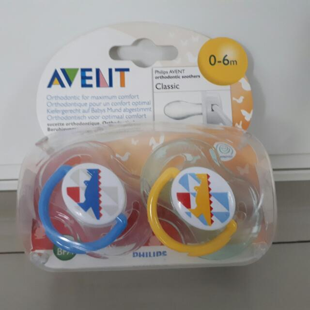 Avent Classic Orthodontic Soother - Pacifier - Empeng - Kempeng