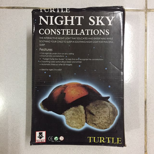 Baby Night Light Constellation Brand New