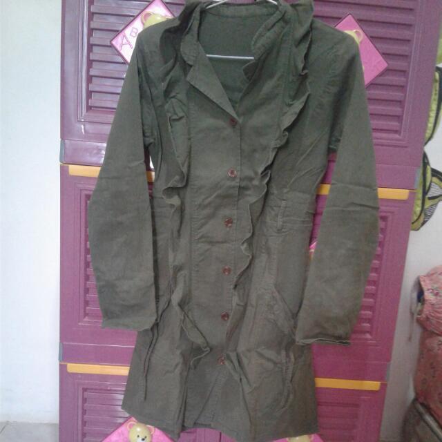 Baju Hijau Army