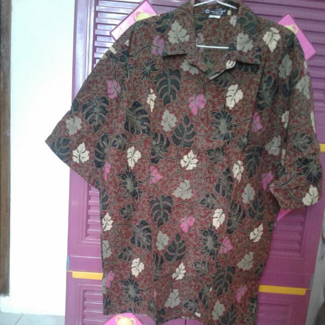 Batik Corak Daun Jumbo