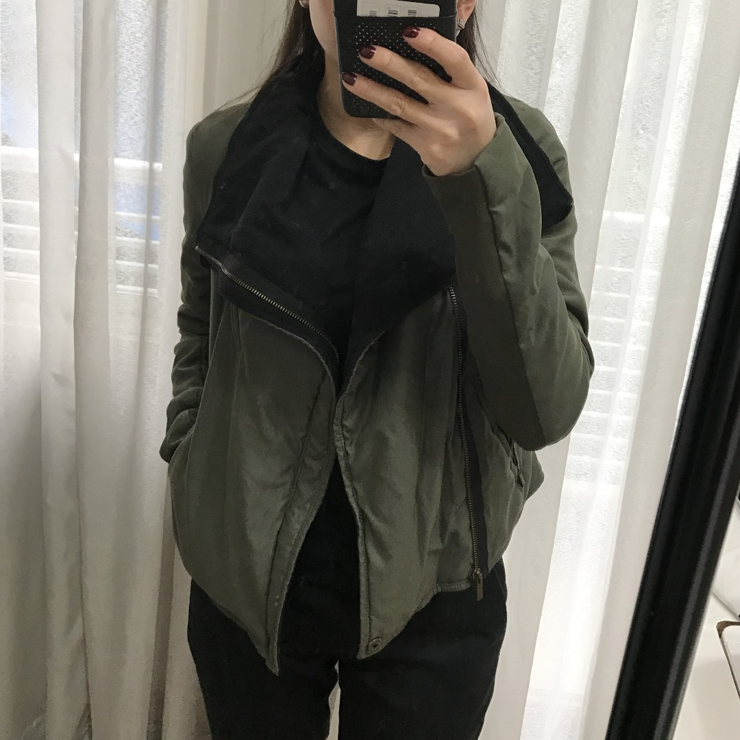 BCBG Green Jacket