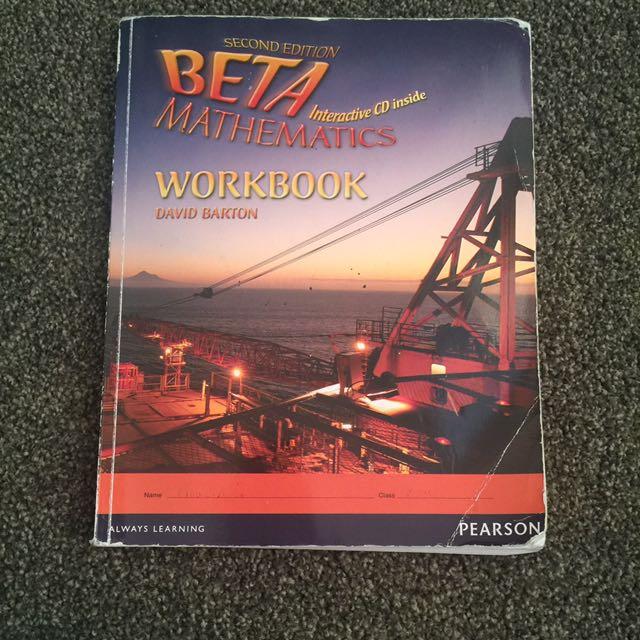 Beta Maths Workbook