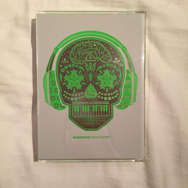 BIGBANG特別版專輯CD/DVD