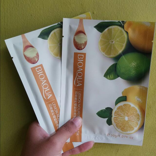 Bioaqua Lemon Nourishing Mask