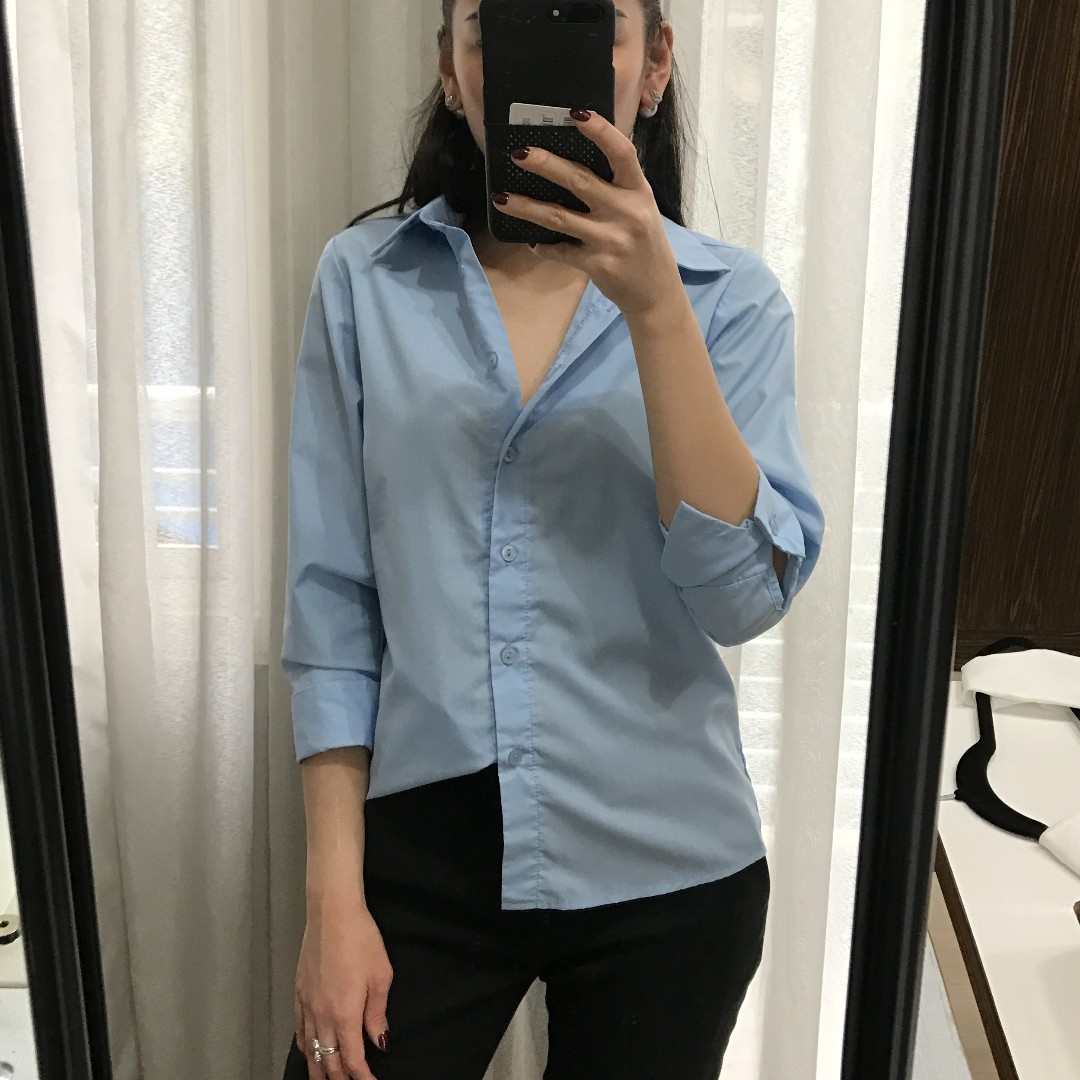 Blue Office Top