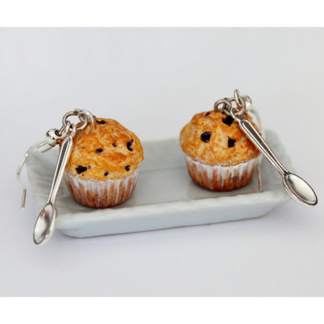 Blueberry Muffin Earrings (179)